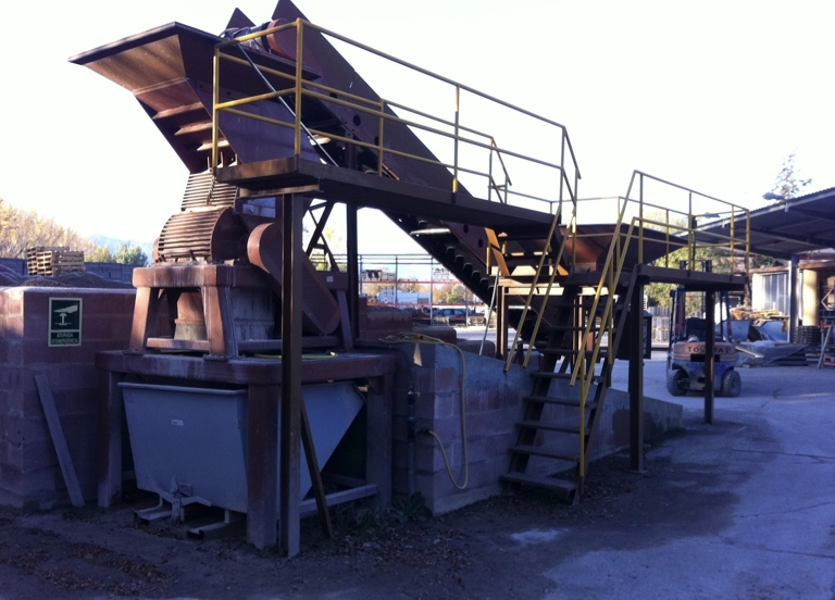 Recyclage ciment machines bloc beton